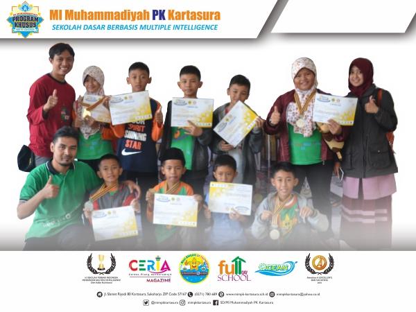 Medali Perunggu Robotic International OLYQ  (Olympiad of Qur'an,  Art and Technology)