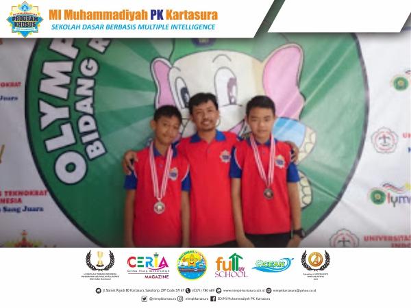 Bronze Medal dalam ajang OLYMPICAD Tingkat Nasional 2017 di Bandar Lampung